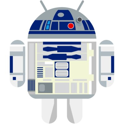 Android Logo: R2D2 Andy