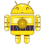 Android Logo: C3PO Andy