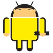Android Logo: Bruce Lee, Enter the Droid