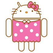 Android Logo: Hello Kitty Andy