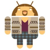 Android Logo:The Dude Droid