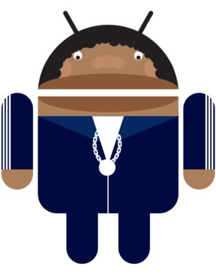 Android Logo: Franklin Droid