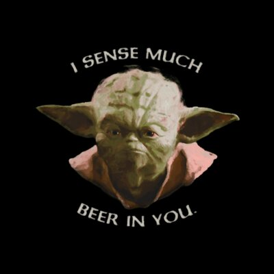 I Sense Much Beer in You