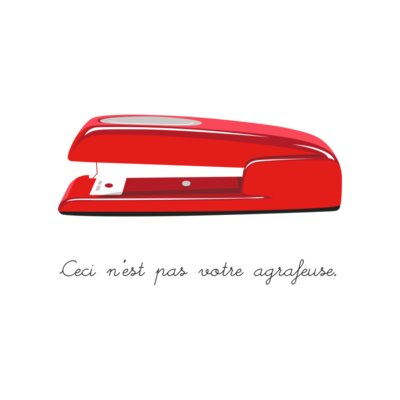 This is Not Your Stapler
