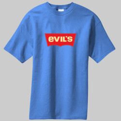 Evil's Levi's -  Most Popular Mens 100% CottonT-Shirt PC61