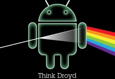 Android logo: Think Droid