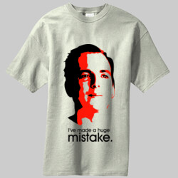 Arrested Development: I've made a huge mistake. -  Most Popular Mens 100% CottonT-Shirt PC61